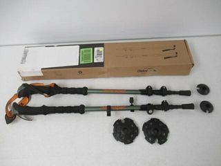 Used  Retrospec High Point Trekking and Ski Poles