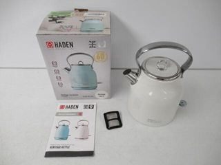 As Is  HADEN Heritage 1 7l Retro Electric Kettle