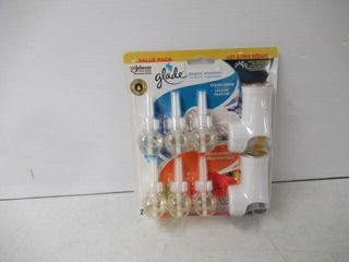 Glade Plugins Scented Oil  2 Holders  3 Refills Of