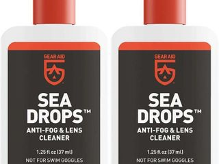 GEAR AID Sea Drops Anti Fog and Cleaner for Dive