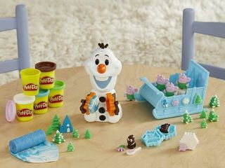 Play Doh Featuring Disney Frozen Olaf s Sleigh