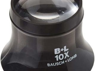 Bausch   lomb Watchmaker loupe  10x  Black