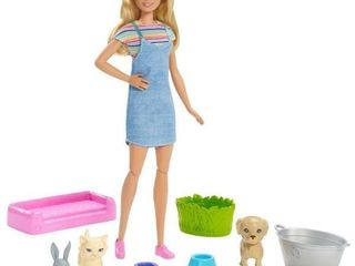 Barbie Play And Wash Pets