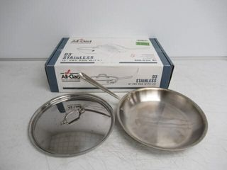 Used  All Clad 41126 Stainless Steel Tri Ply
