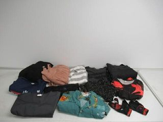 As Is  lot Of Adult And Youth Clothing  Assorted