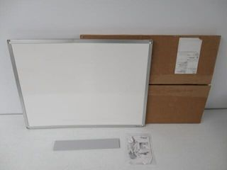As Is  Mead Classic Whiteboard  24x18  Aluminum