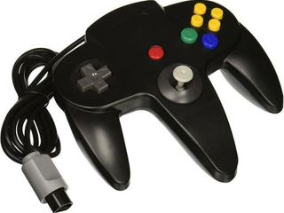 OSTENT Wired Nintendo 64 Controller   Black