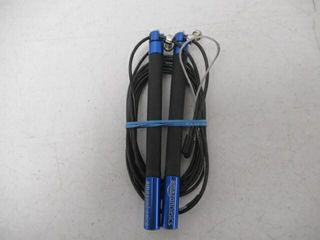 Used  Aluminum and Grip Speed Jump Rope  Blue