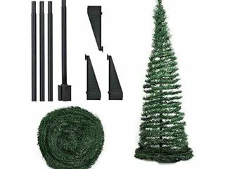 6FT Artificial Christmas Tree  Collapsible Pop Up