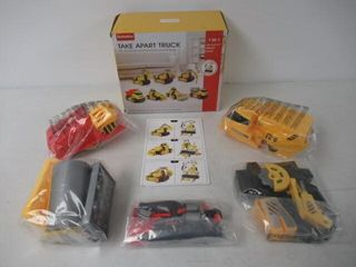 Sealed Packages  7 in 1 DIY Take Apart Truck Car
