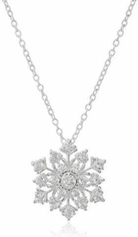 Hallmark Jewelry Sterling Silver Cubic Zirconia
