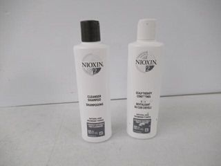 As Is  Nioxin System 2 Starter Kit Cleanser