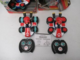 As Is  lot Of  3  NINTENDO 02497 Mini RC Racer