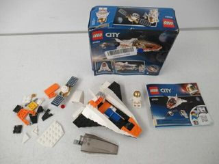 As Is  lEGO City Satellite Service Mission 60224