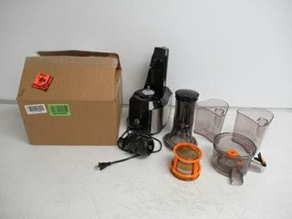 As Is  Ventray Slow Press Masticating Juicer