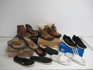 As Is  lot Of Adult And Youth Shoes  Assorted