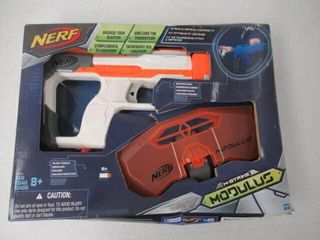 As Is  NERF Modulus Strike   Defend Upgrade Kit