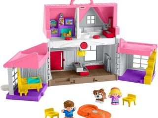 Fisher Price little People Big Helpers Home  Pink