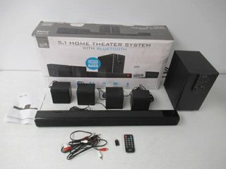 Used  ilive 5 1 Home Theater System with