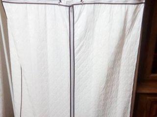 Rolling Cedar Floor Wardrobe 59 x 34 x 22 in