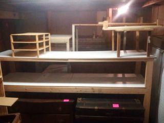 Workbench Shelves 50 x 96 x 24 in