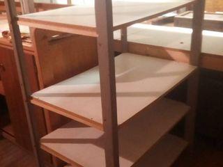 Wood Shelves 58 x 39 x 26 in