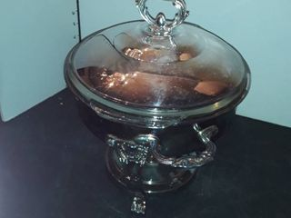 Silver Plate WARMING Chafing Pan