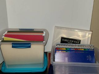 Filing Containers
