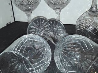 Set of 5 Red Wine Glasses