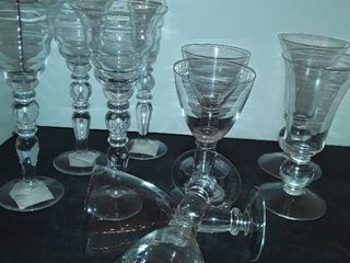 10 Various Drinking Glasses