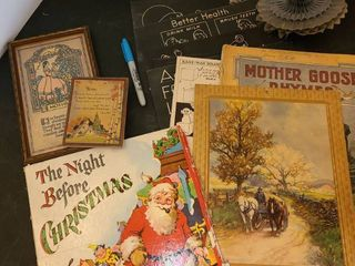 Miscellaneous ANTIQUE BOOKS  Framed Art and other Miscellaneous