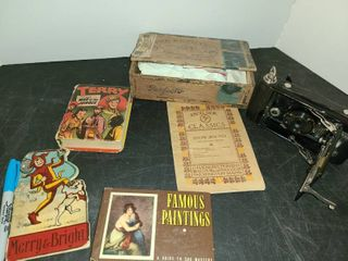 ANTIQUE BOOKS and A CAMERA