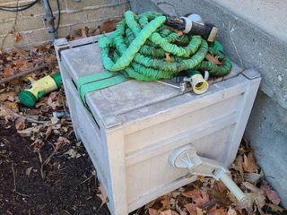 Hose reel Box with hose