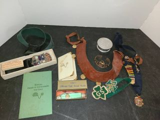 Miscellaneous GIRl SCOUT ITEMS