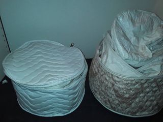 11 pcs  of Quilted Plate Protectors