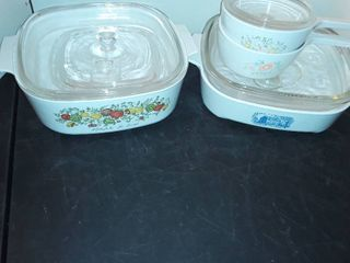 Miscellaneous BAKEWARE   Some CORNING WARE
