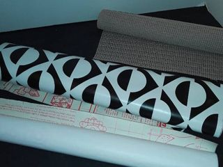 2 Rolls of Contact Paper and small amount of Non slip Material