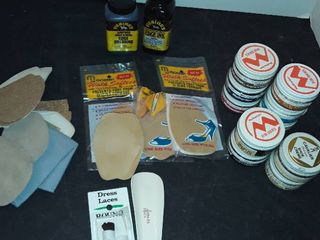 SHOE POlISH  lEATHER DYE and other items