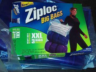 ZIPlOC BIG BAGS  XXl