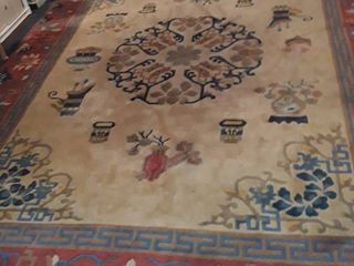 large Area Rug  9  x 12