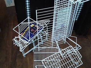 MISCEllANEOUS WIRE SHElVES and or lIFTS