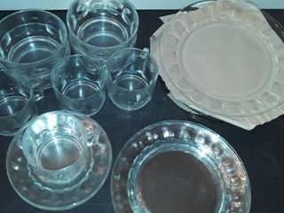 Dinner Service for 4  Plates  salad plates  dessert plates  bowls  cups and saucers