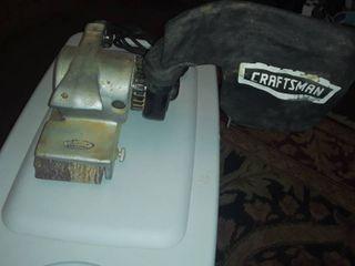 CRAFTSMAN Dustless 2 Speed Belt Sander