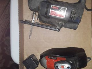 SKIl JIG SAW and a BlACK and DECKER Screw Gun No bits but has a charger