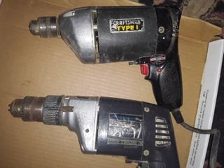 CRAFTSMAN 3 8 Drill and a Impact Drill