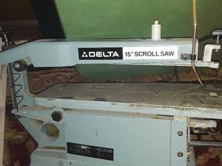 DElTA 15  SCROll SAW