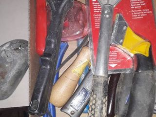 lot of Box Knives  Scrappers and etc