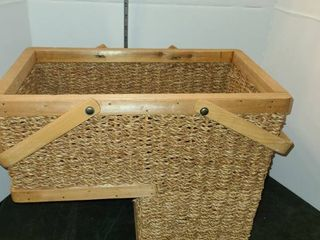 An  Over the Chair   BASKET  Great for Sewing or Knitting