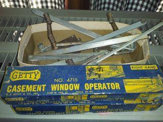 casement window operator accessories