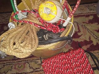 assorted rope and twine